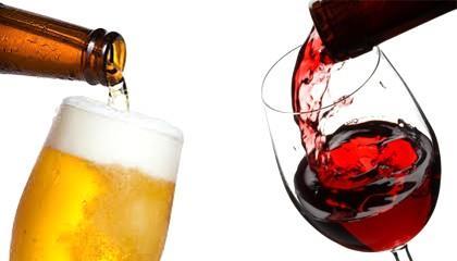 Cerveja e vinho ajudam coração e têm poder antioxidante