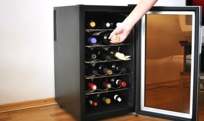 Adega é opção para amantes de vinho