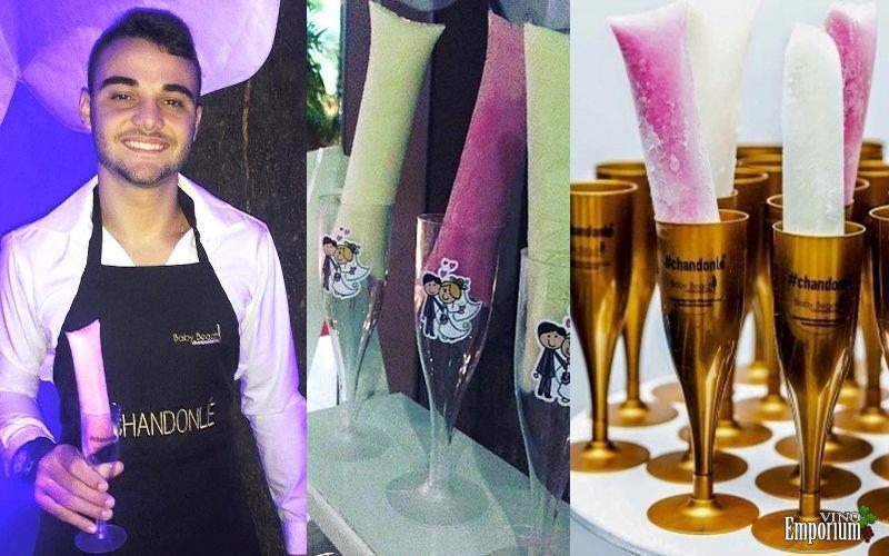 São vendidos de 100 a 300 Chandonlés por evento, segundo o empresário Ruan Nemeczymk