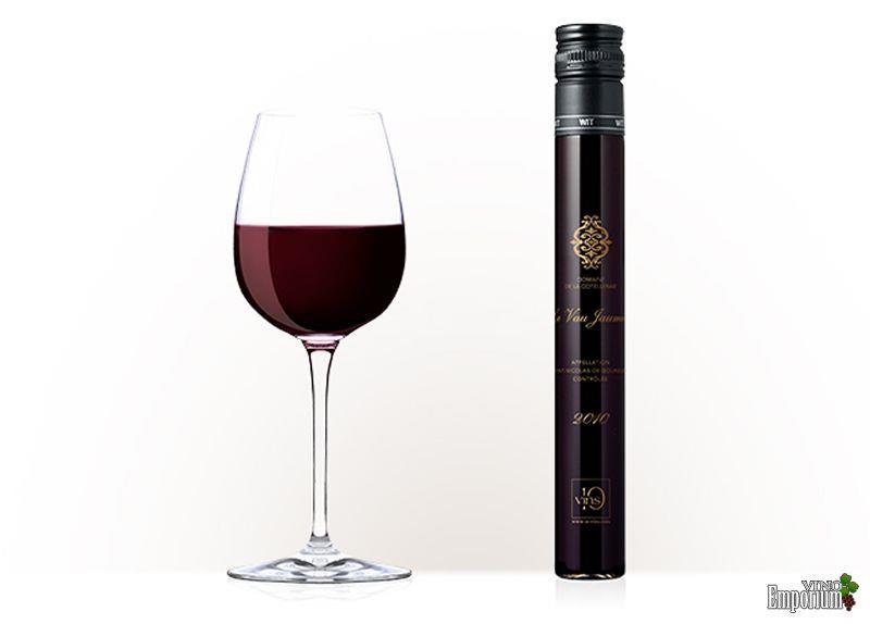 1 taça de vinho (100 ml) equivale a 1 frasco (cápsula de vinho)