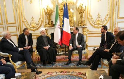 Hollande e Rouhani: dois presidentes que o vinho separa e os negócios unem