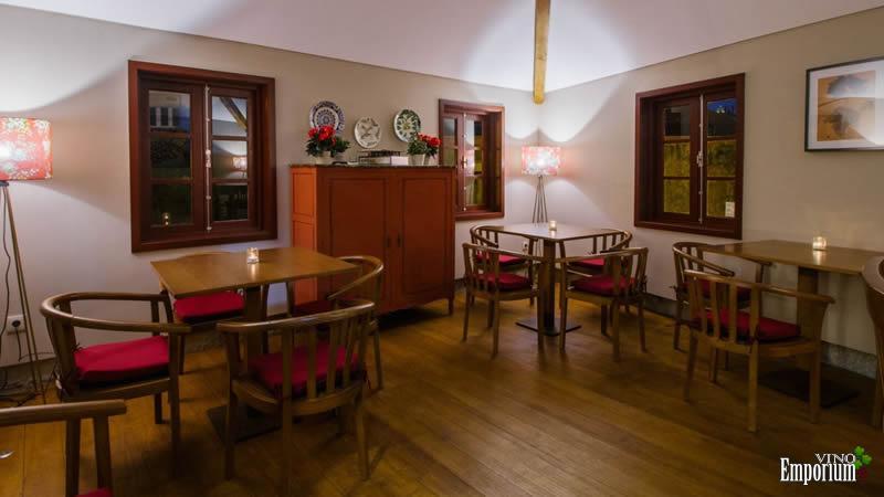 No andar superior, a sala de jogos de tabuleiros