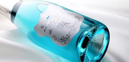 Brasil já pode experimentar o 1º espumante azul turquesa do mundo