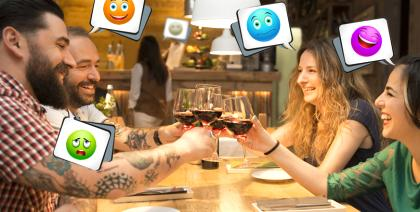 Ficha Funny é a nova atração entre os confrades do Vino Emporium
