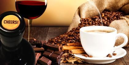 Dois estudos comprovam: chocolate, café e vinho tinto fazem bem à saúde