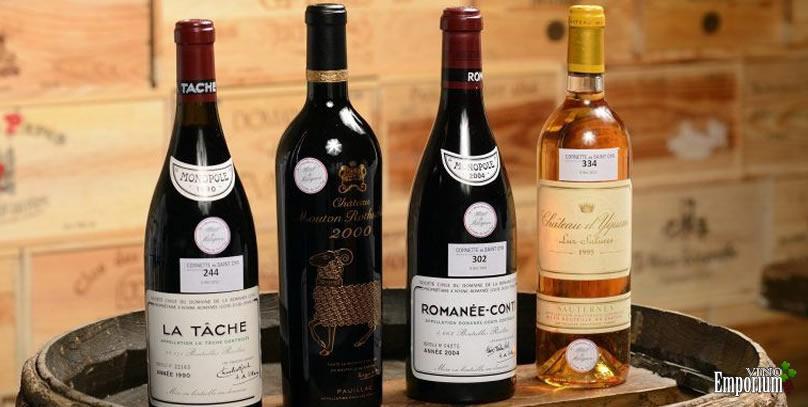 O vinho francês Romanée-Conti é considerado um dos melhores e mais caros do mundo