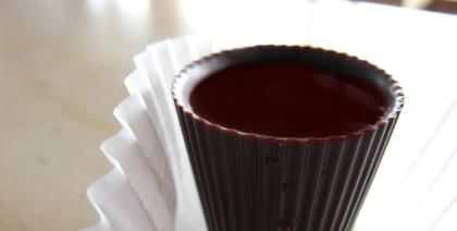 Depois do jantar tem Vinho do Porto com chocolate!