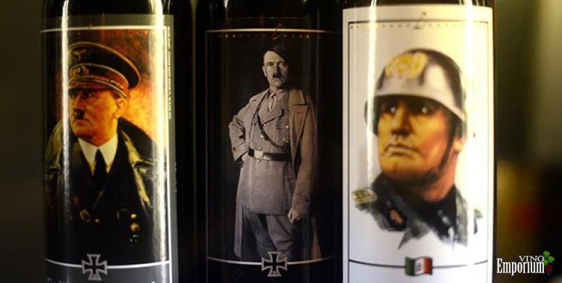 Polícia alemã confisca garrafas de 'vinho do Führer' com rosto de Hitler