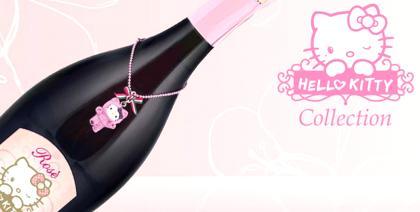 Hello Kitty assina uma linha de vinhos e espumantes italianos