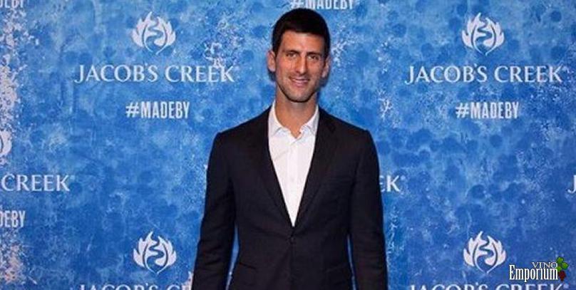Número 1 do mundo, Novak Djokovic vira embaixador de marca de vinhos