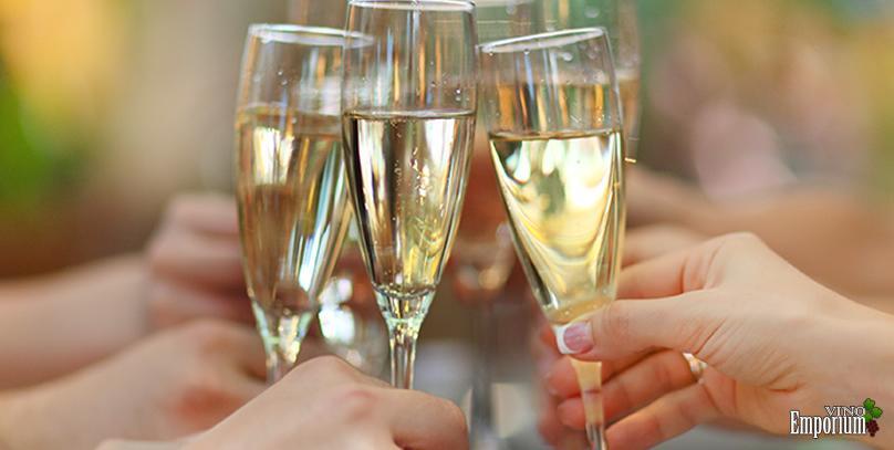 Bebida efervescente é somente champagne?
