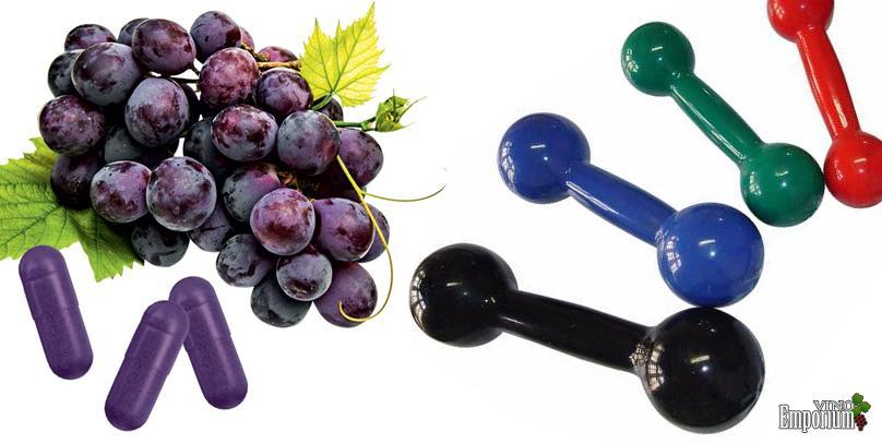 Novo suplemento que dá um boost no exercício – e tem gostinho de vinho tinto!