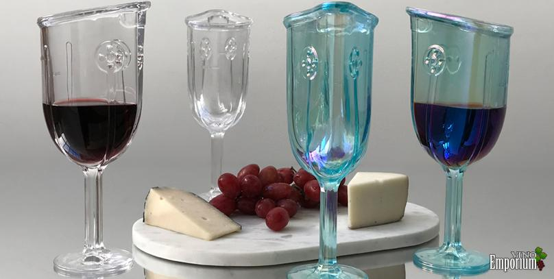 Uma taça com design inovador promete redefinir o jeito de tomar vinho
