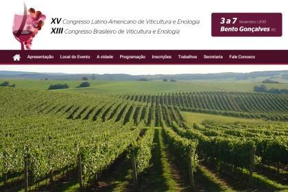 Palestras, painéis e visitas técnicas compõe a programação do Congresso Latino-Americano de Viticultura e Enologia