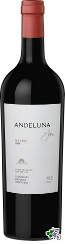 Ficha Técnica: Andeluna Malbec (2008)
