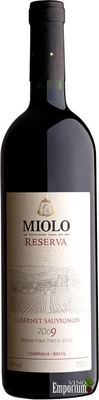 Ficha Técnica: Miolo Reserva Cabernet Sauvignon (2009)