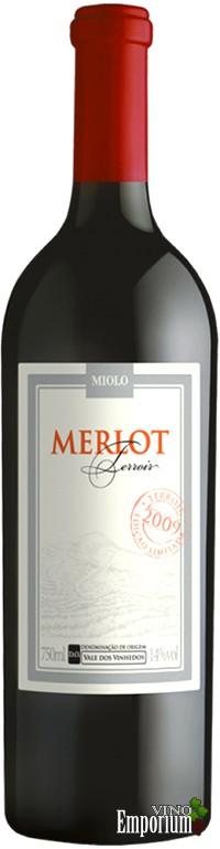 Ficha Técnica: Miolo Merlot Terroir (2009)
