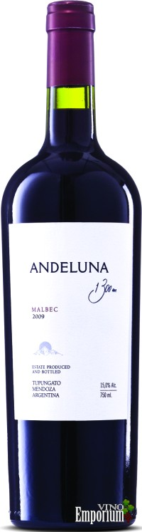 Ficha Técnica: Andeluna Malbec (2009)