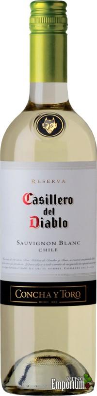 Ficha Técnica: Casillero Del Diablo Reserva Sauvignon Blanc (2010)