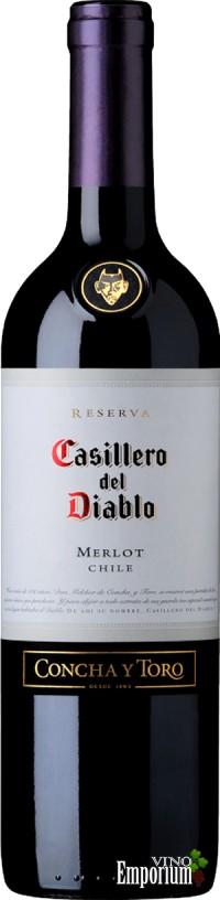 Ficha Técnica: Casillero Del Diablo Reserva Merlot (2007)