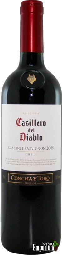Ficha Técnica: Casillero Del Diablo Reserva Cabernet Sauvignon (2008)