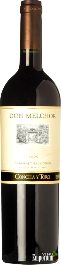 Ficha Técnica: Don Melchor Cabernet Sauvignon (2000)