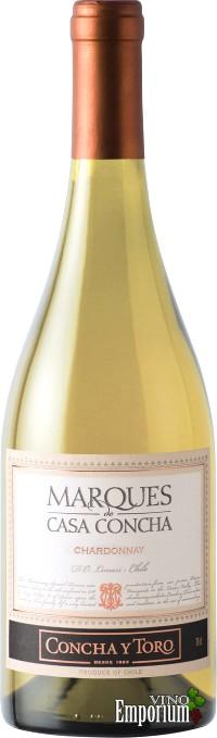 Ficha Técnica: Marques de Casa Concha Chardonnay (2010)