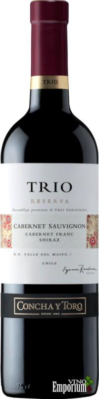 Ficha Técnica: Trio Reserva Cabernet Sauvignon