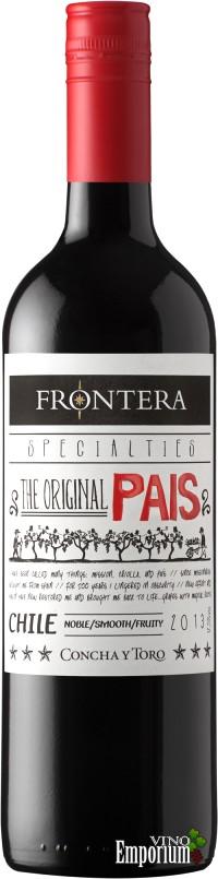 Ficha Técnica: Frontera Specialties The Original País (2013)
