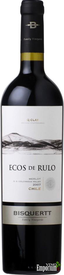 Ficha Técnica: Ecos de Rulo Merlot (2007)