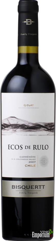 Ficha Técnica: Ecos de Rulo Carmenère (2007)