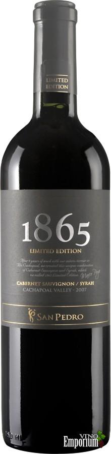 Ficha Técnica: 1865 Limited Edition Syrah-Cabernet Sauvignon (2007)