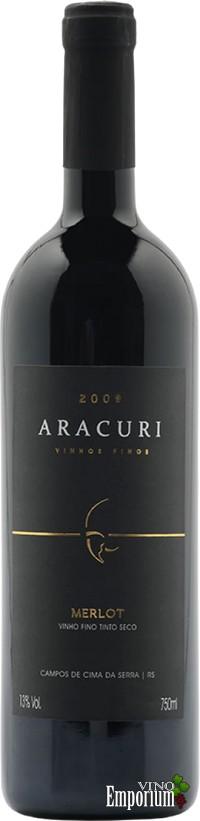 Ficha Técnica: Aracuri Merlot (2009)