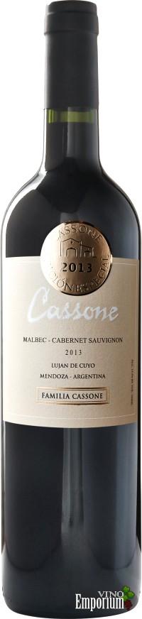 Ficha Técnica: Cassone Edición Especial Malbec-Cabernet Sauvignon (2013)