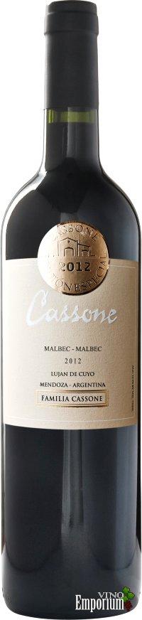 Ficha Técnica: Cassone Edición Especial Malbec-Malbec (2012)
