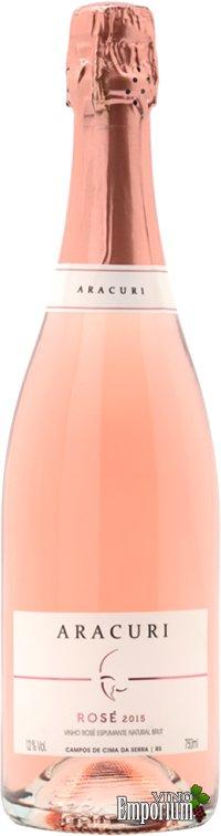 Ficha Técnica: Aracuri Brut Rosé (2015)