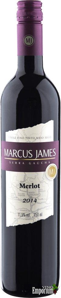 Ficha Técnica: Marcus James Merlot (2014)
