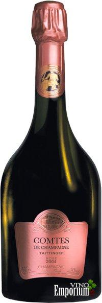 Ficha Técnica: Taittinger Comtes de Champagne Millésimé Rosé (2004)