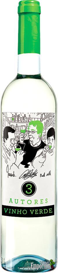 Ficha Técnica: 3 Autores Vinho Verde Branco (2015)