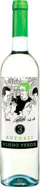 3 Autores Vinho Verde Branco (2015)