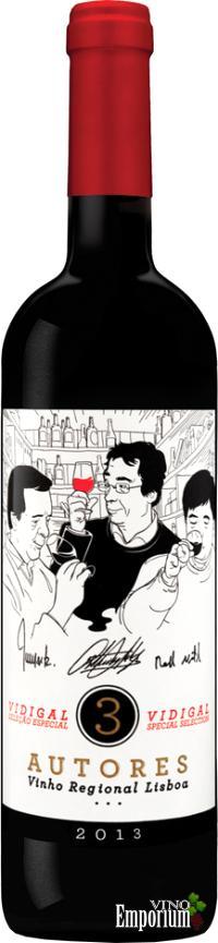 Ficha Técnica: 3 Autores Regional Lisboa (2013)