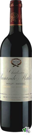 Ficha Técnica: Château Sociando-Mallet Cru Bourgeois (2001)