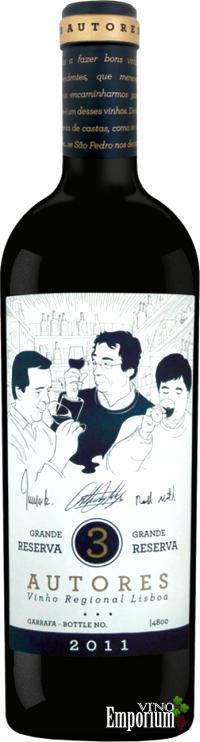Ficha Técnica: 3 Autores Grande Reserva (2011)