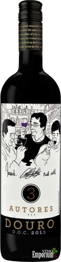 Ficha Técnica: 3 Autores Douro (2013)