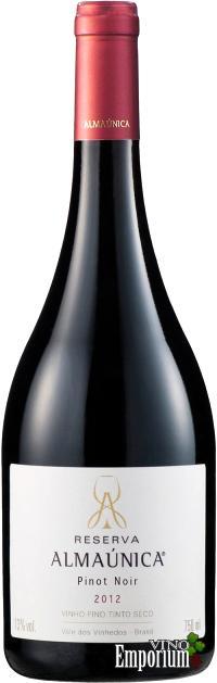 Ficha Técnica: Reserva Almaúnica Pinot Noir (2012)