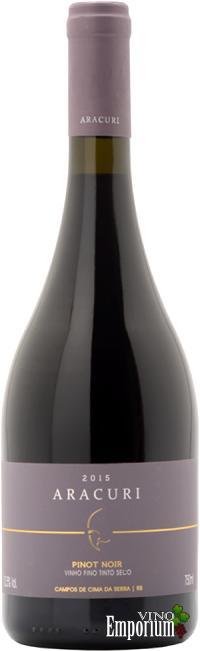 Ficha Técnica: Aracuri Pinot Noir (2015)