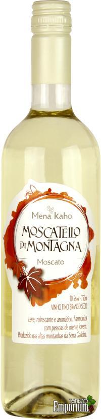 Ficha Técnica: Mena Kaho Moscatello di Montagna