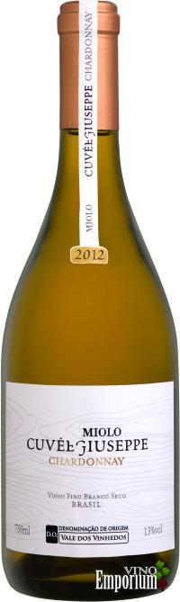 Ficha Técnica: Miolo Cuvée Giuseppe Chardonnay D.O. (2012)