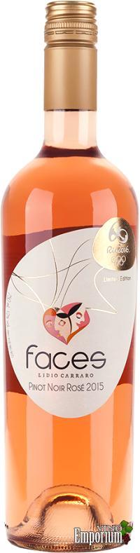 Ficha Técnica: Faces Lidio Carraro Pinot Noir (2015)