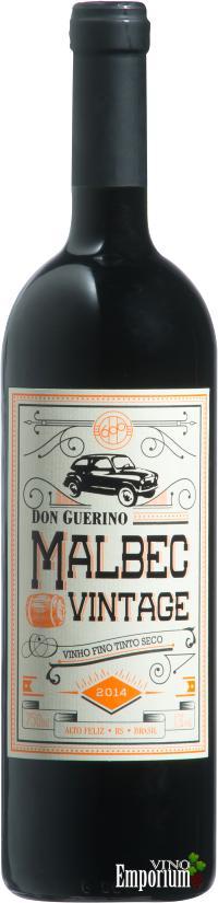 Ficha Técnica: Don Guerino Malbec Vintage (2014)